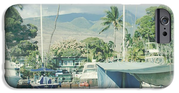 Pleasure Digital Art iPhone Cases - Lahaina iPhone Case by Sharon Mau