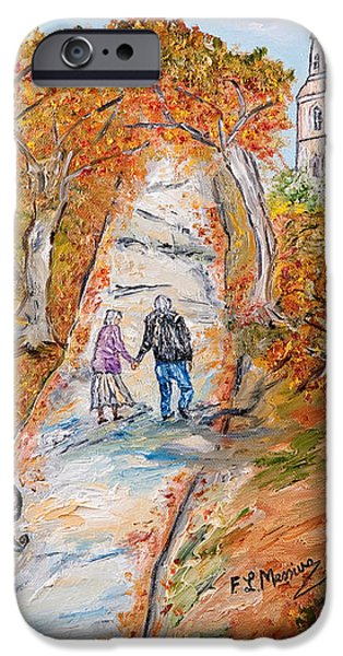 L'autunno della vita iPhone Case by Loredana Messina