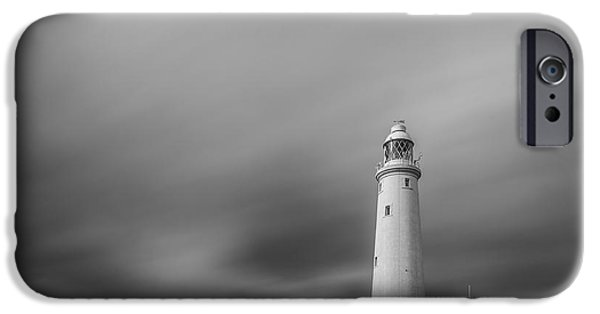 Eerie iPhone Cases - Lighthouse  iPhone Case by Bahadir Yeniceri