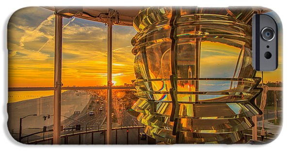 Lighthouse iPhone Cases - Lighting the Way iPhone Case by Brian Wright