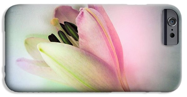 Exhibition iPhone Cases - Lily in My Dreams iPhone Case by Marianna Mills