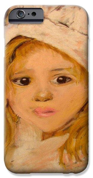little girl iPhone Case by Joseph Hawkins