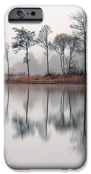 Loch Ard Reflections iPhone Case by Grant Glendinning