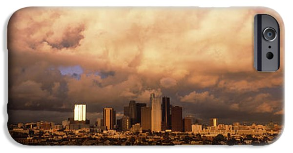 Storm iPhone Cases - Los Angeles Ca Usa iPhone Case by Panoramic Images