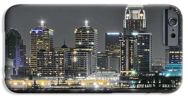 Louisville iPhone Cases - Louisville Lights iPhone Case by Frozen in Time Fine Art Photography