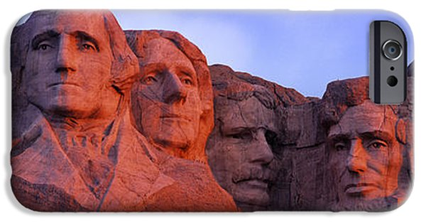 President iPhone Cases - Low Angle View Of A Monument, Mt iPhone Case by Panoramic Images