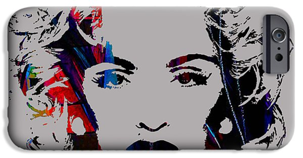Pop iPhone Cases - Madonna Collection iPhone Case by Marvin Blaine