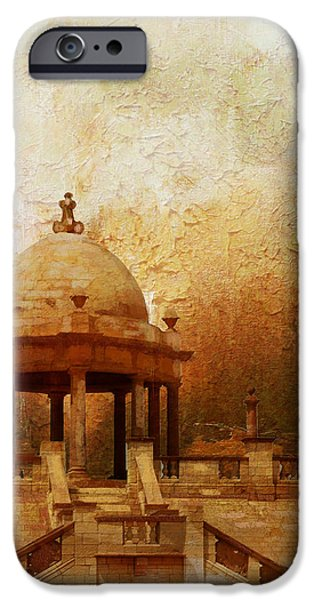 Pakistan iPhone Cases - Makli Hill iPhone Case by Catf