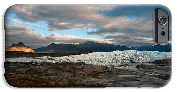 Matanuska iPhone Cases - Matanuska Glacier, Alaska iPhone Case by Mark Newman