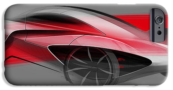 Virtual iPhone Cases - McLaren JetSet no.5 iPhone Case by Marianna Merenmies