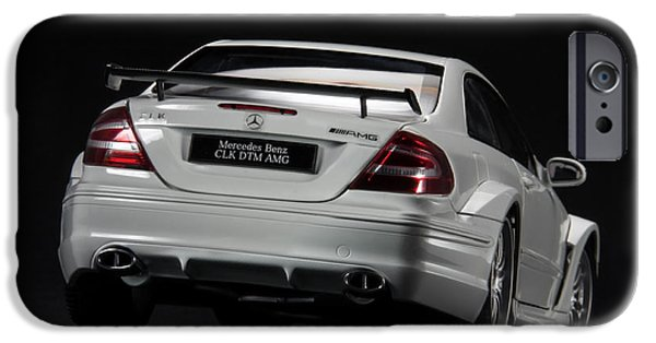 Model iPhone Cases - Mercedes-Benz CLK DTM AMG iPhone Case by Evgeny Rivkin