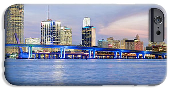 Miami Photographs iPhone Cases - Miami 2004 iPhone Case by Patrick M Lynch