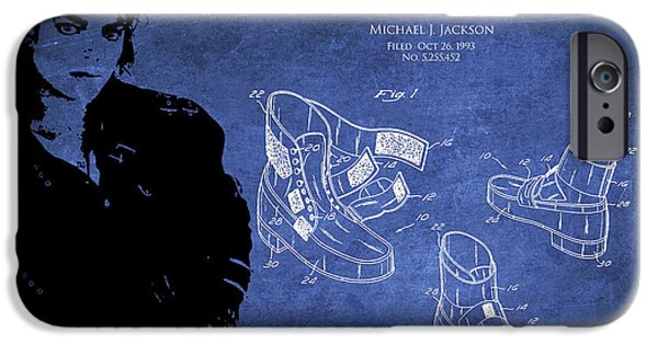 King Of Pop iPhone Cases - Michael Jackson Patent iPhone Case by Aged Pixel