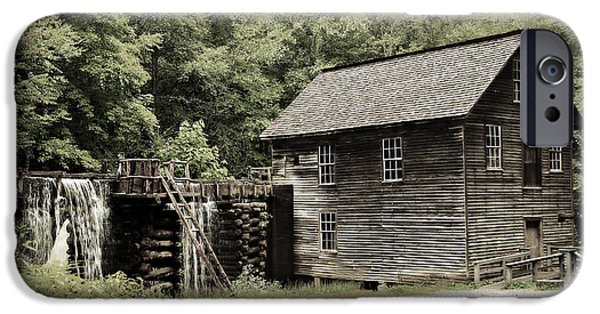 Old Barns iPhone Cases - Mingus Mill iPhone Case by Stephen Stookey