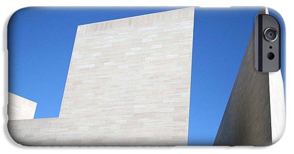 Cora Wandel iPhone Cases - Modern Art Modern Architecture iPhone Case by Cora Wandel