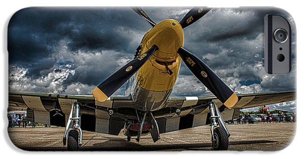 Cockpit Photographs iPhone Cases - Mustang iPhone Case by Martin Newman