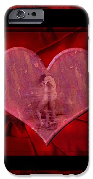 Recent iPhone Cases - My Hearts Desire iPhone Case by Kurt Van Wagner