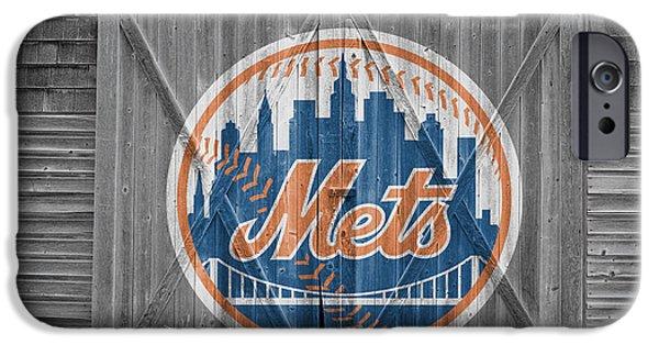 New York Mets Stadium iPhone Cases - New York Mets iPhone Case by Joe Hamilton