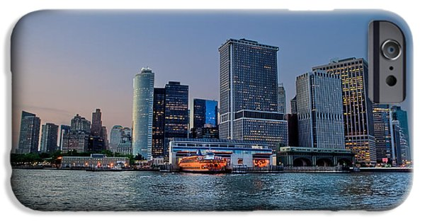 River View iPhone Cases - New York New York iPhone Case by Ray Warren