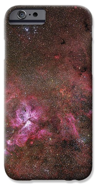 Ngc 3372, The Eta Carinae Nebula iPhone Case by Robert Gendler