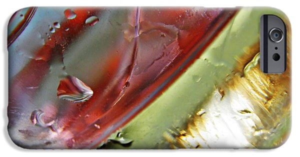 Business iPhone Cases - Oil and Water 27 iPhone Case by Sarah Loft