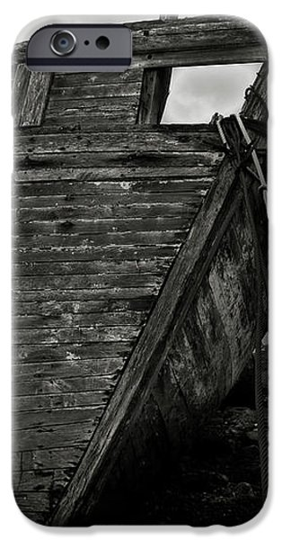 Old abandoned ship iPhone Case by RicardMN Photography