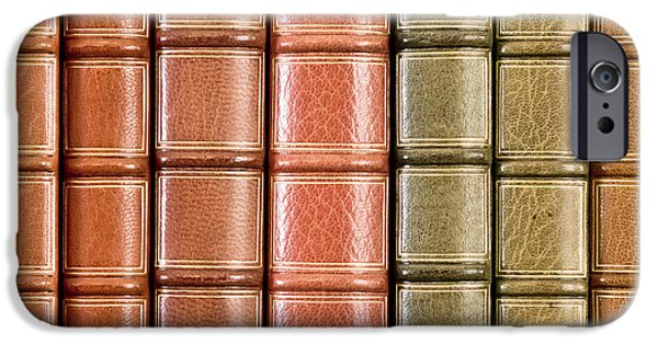 Valuable iPhone Cases - Old books iPhone Case by Tom Gowanlock