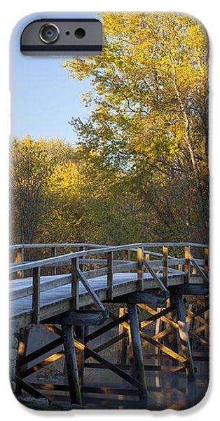 Old North Bridge iPhone Case by Brian Jannsen