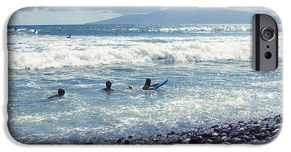 My Ocean iPhone Cases - Olowalu Maui Hawaii iPhone Case by Sharon Mau