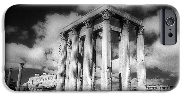 Best Sellers -  - Zeus iPhone Cases - Olympian Zeus sanctuary iPhone Case by Andonis Katanos