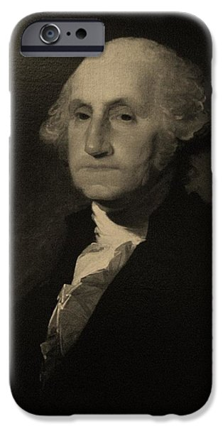 Potus iPhone Cases - One iPhone Case by Rob Hans