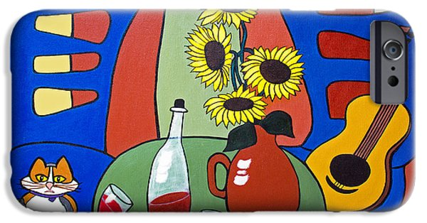 Table Wine iPhone Cases - Oreo iPhone Case by Barbara McMahon