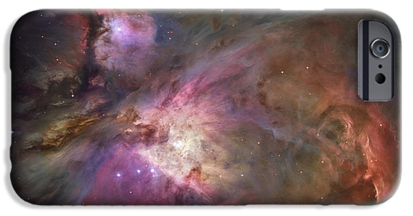 Heaven iPhone Cases - Orion Nebula iPhone Case by Sebastian Musial