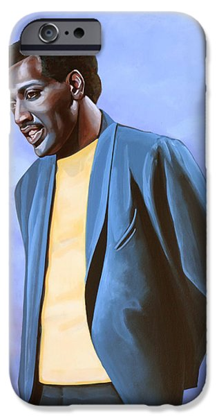 Gospel iPhone Cases - Otis Redding iPhone Case by Paul  Meijering