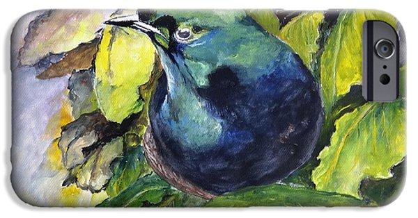 Mangrove Forest iPhone Cases - Paradise Bird iPhone Case by Jason Sentuf