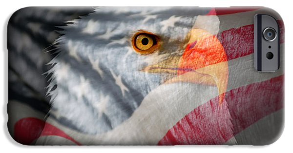 Fourth Of July Photographs iPhone Cases - Patriot iPhone Case by Ron Day