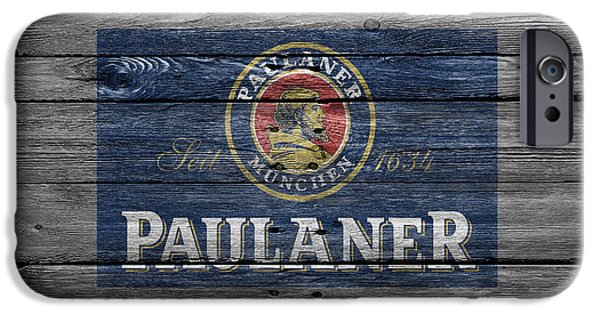 Saloons iPhone Cases - Paulaner iPhone Case by Joe Hamilton