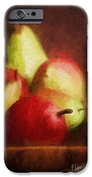Pears Digital iPhone Cases - Pears iPhone Case by HD Connelly