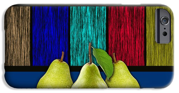 Green iPhone Cases - Pears iPhone Case by Marvin Blaine