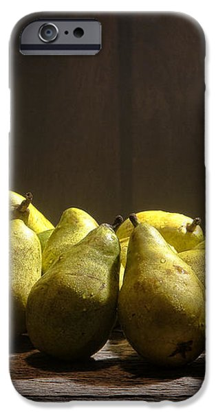 Pears iPhone Case by Olivier Le Queinec