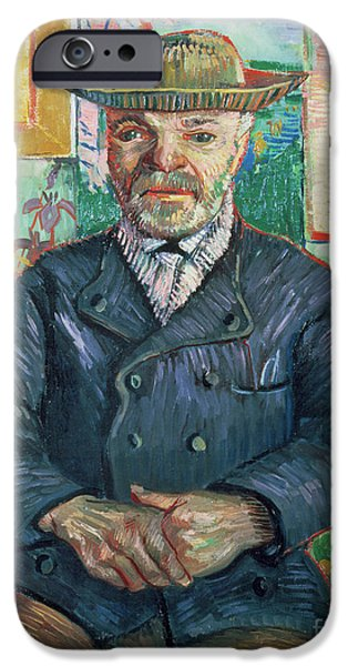 Pere Tanguy iPhone Case by Vincent van Gogh