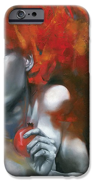 Mysterious iPhone Cases - Persephone iPhone Case by Patricia Ariel