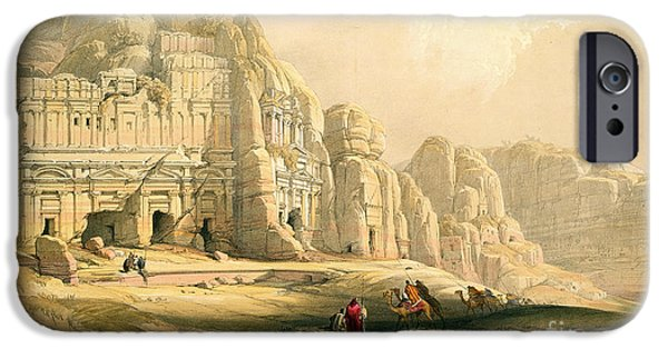 Remnant iPhone Cases - Petra iPhone Case by David Roberts