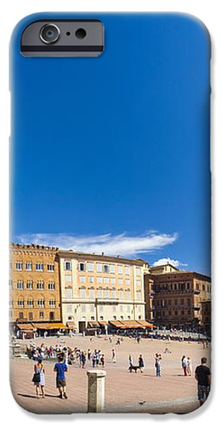Piazza del Campo iPhone Case by Sebastian Wasek