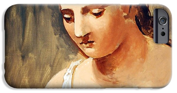 Cora Wandel iPhone Cases - Picassos Classical Head iPhone Case by Cora Wandel
