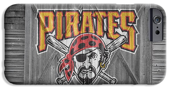 Baseball Field iPhone Cases - Pittsburgh Pirates iPhone Case by Joe Hamilton