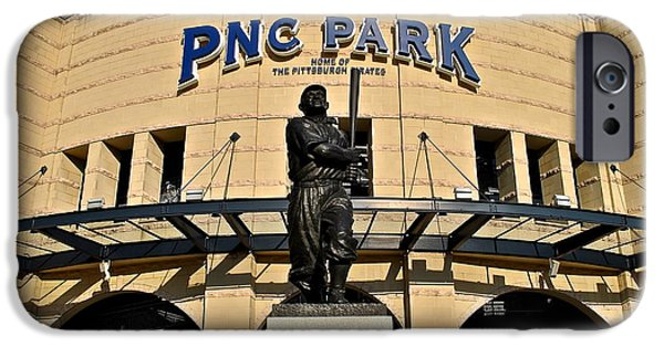 Pennsylvania Baseball Parks iPhone Cases - Pnc Park iPhone Case by Frozen in Time Fine Art Photography