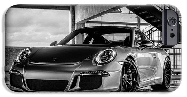Automotive iPhone Cases - Porsche 911 GT3 iPhone Case by Douglas Pittman