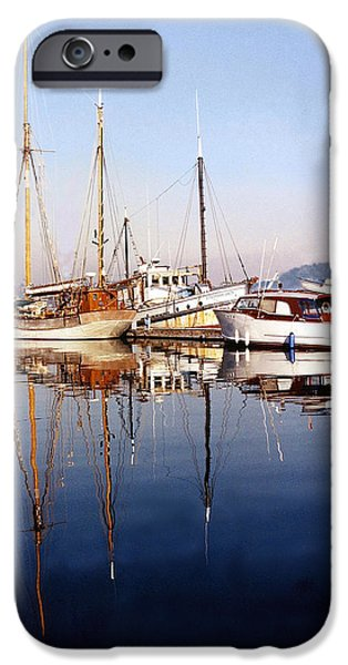 Reflections Port Orchard Marina iPhone Case by Jack Pumphrey