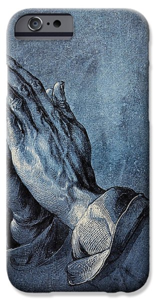 Praying Hands iPhone Case by Albrecht Durer